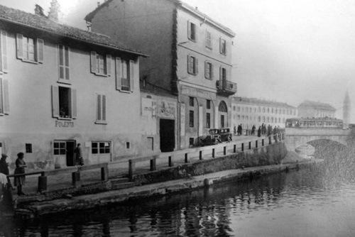 Milano nel tempo for Il naviglio grande ristorante